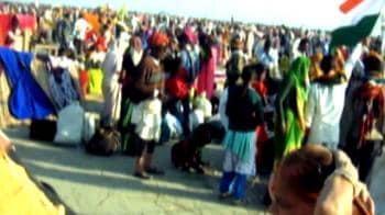 Video : Stampede in Kakdweep in West Bengal; 7 pilgrims dead