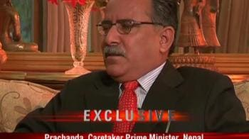 Video : Crisis of confidence with India: Prachanda to NDTV