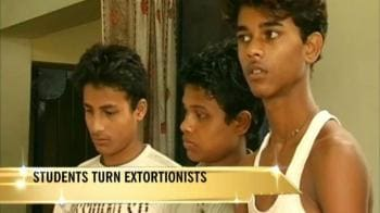 Video : Students turn extortionists in Assam