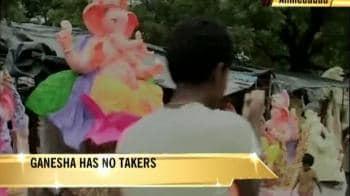 Video : Ganesha-makers hit by swine flu