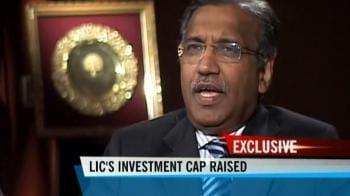 Video : IRDA raises LIC's investment cap