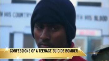 Video : Teenage suicide bomber from Pakistan caught