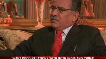 Video : India's Nepal-China fears baseless: Prachanda