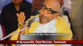 Video : Karunanidhi's filmy pardon