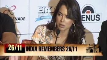 Video : Sameera Reddy: Build a safe India