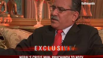 Video : Nepal's crisis man Prachanda on NDTV