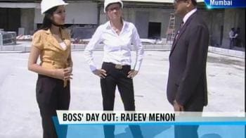 Video : Boss' Day Out: Rajeev Menon
