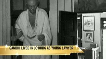 Video : India loses Gandhi's Johannesburg house