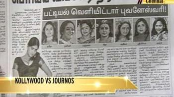 Video : Tamil editor held on harassment charges