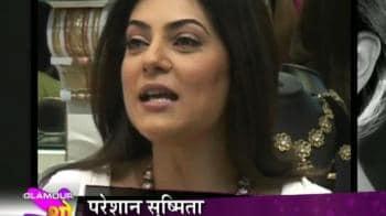 Videos : Fans mobbed Sushmita Sen