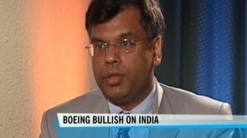 Video : Boeing bullish on Indian defense market