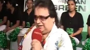 Video : Bappi Lahiri sings a green tune