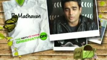 Video : R Madhavan's Go Green clarion call: Say no to plastic!