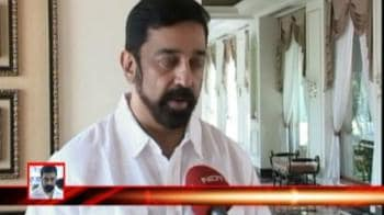 Video : Kamal Hassan's name not in voters' list