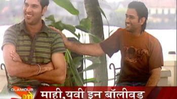 Video : Mahi, Yuvi in Bollywood