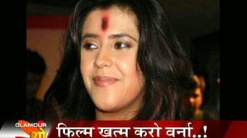 Videos : Ekta angry with Suniel