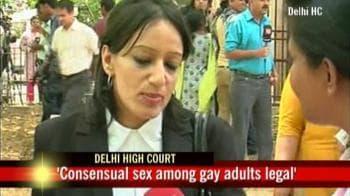 Video : Landmark verdict: Delhi HC makes homosexuality legal