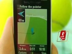 Gesture sensing with Sony Ericsson Yari