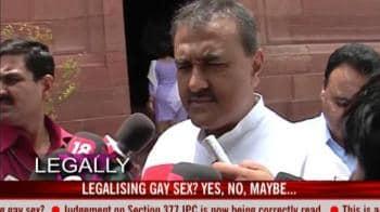 Video : Legalising gay sex: Yes, no, may be...