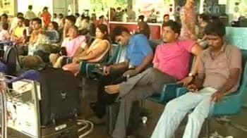 Video : Kolkata airport paralysed