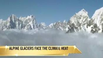 Video : Alpine glaciers face the climate heat