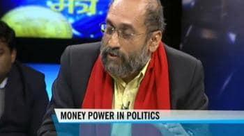 Video : Money power in politics