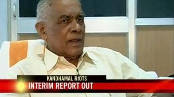 Video : Interim report on Kandhmal riots out