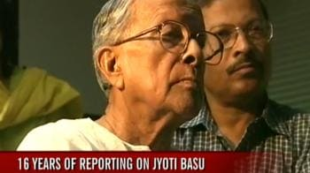 Video : 16 years of reporting on Jyoti Basu