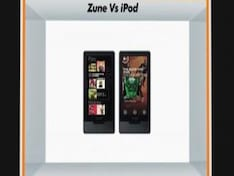 Microsoft Zune HD vs Apple Ipod Touch