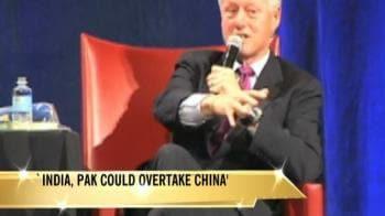 Video : 'India, Pak could overtake China'