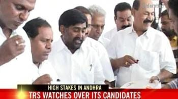 Video : TRS watches over its candidates