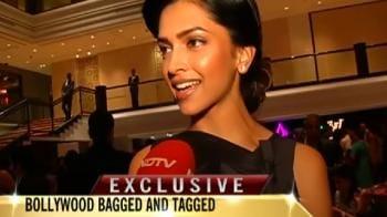 Video : Freida, Deepika at Louis Vuitton party