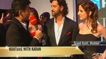 Video : Karan catches up with Hrithik, Suzanne