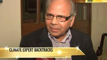 Video : Climate expert backtracks, says he never said glaciers will melt by 2035