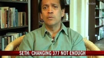 Video : Just changing Section 377 not enough: Vikram Seth