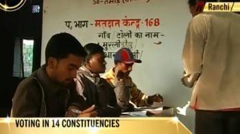 Video : Jharkhand polls; Maoists strike