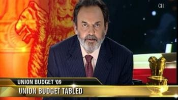 Video : Union Budget '09 tabled