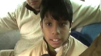 Video : Lucknow: 11-year-old rescued after encounter