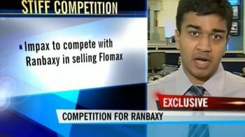 Video : Competition for Ranbaxy from Impax