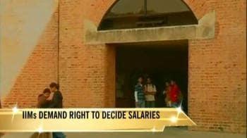 Video : IIMs demand right to decide salaries
