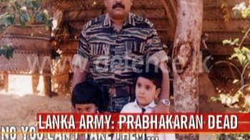 Video : LTTE chief Prabhakaran's body found