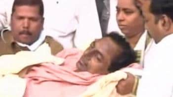 Video : TRS chief Rao shifted to Hyderabad hospital