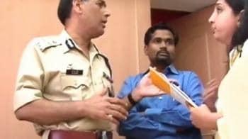 Video : A N Roy, Maharashtra Police Chief, again