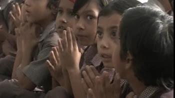 Video : Madhya Pradesh paints schoolbooks saffron
