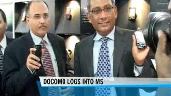 Video : Tata Docomo ties up with Microsoft