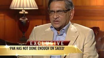 Video : Pakistan must take action against Saeed: Krishna