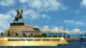 Video : 350-crore Shivaji statue despite drought