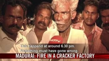 Video : 17 killed in cracker factory fire