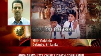 Video : 'DNA tests prove Prabhakaran is dead'