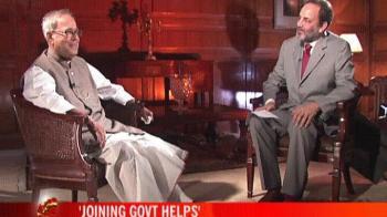 Video : Pranab on Rahul joining the govt